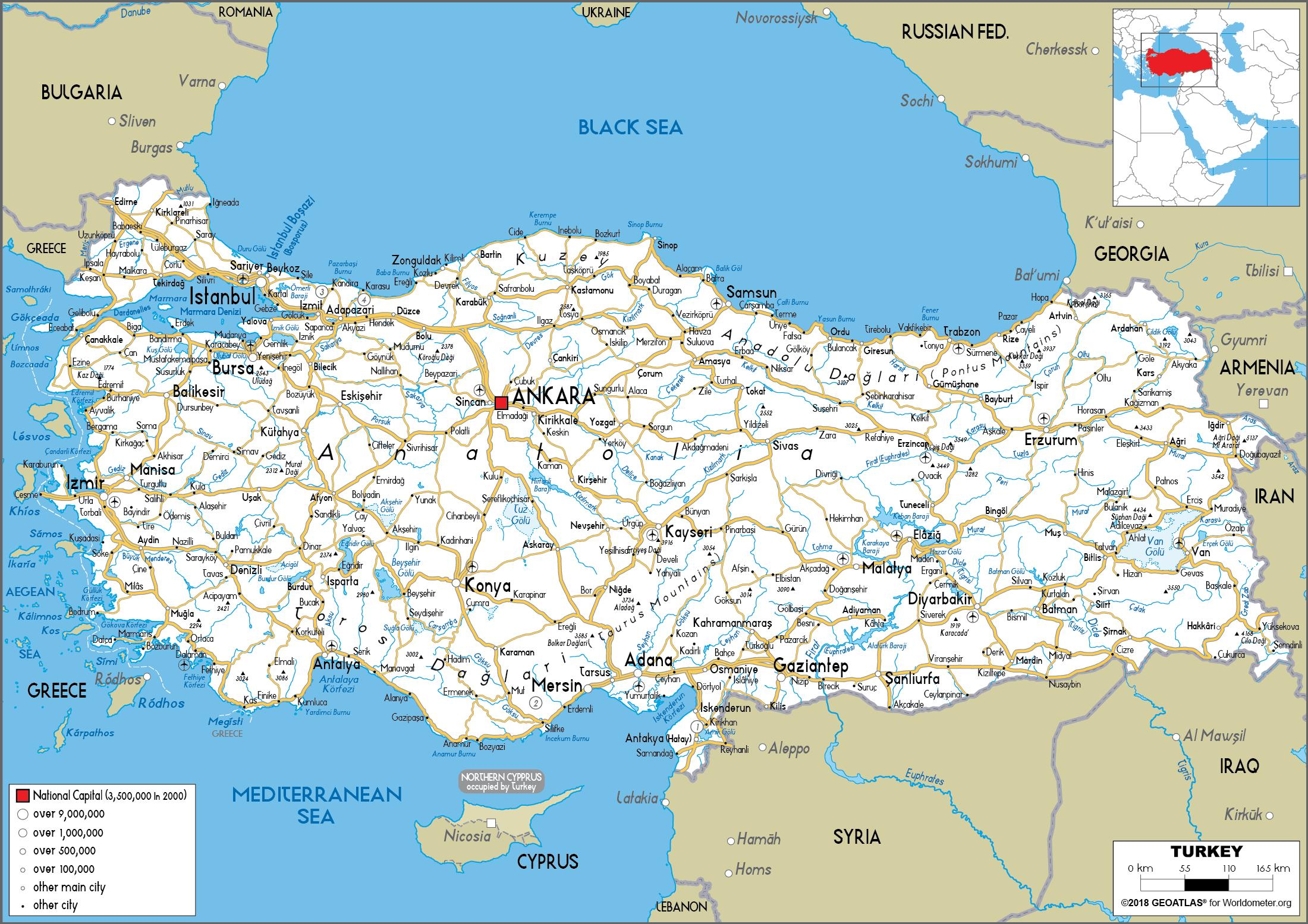 turska karta Turska karta Turske kartice (Zapadna Azija   Azija) turska karta