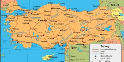 Turska Kartice Kartice U Turskoj Zapadna Azija Azija